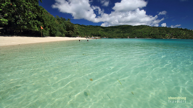 Tiamban Beach and turquoise waters
