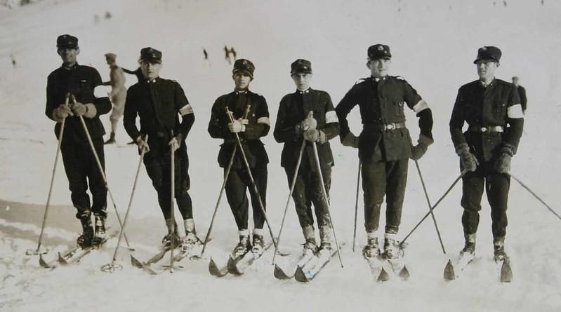 Foto storica - Squadra di Montagna