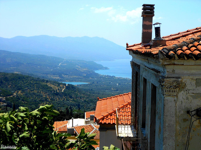 Maratokampos neighbourhood, Samos.