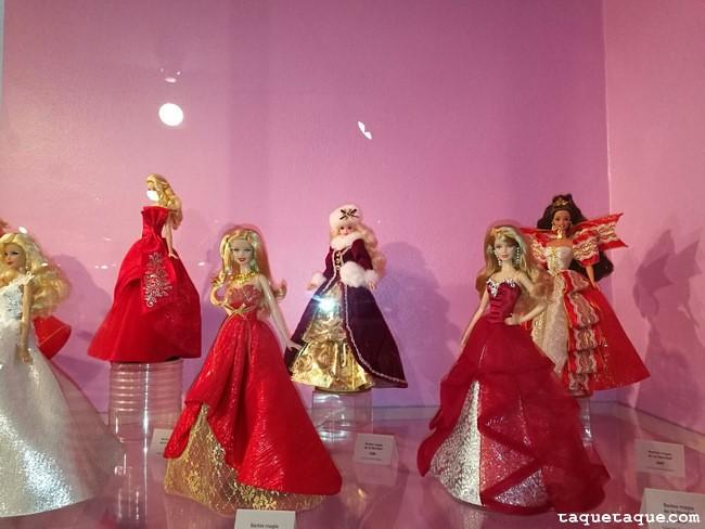 Barbies de Navidad