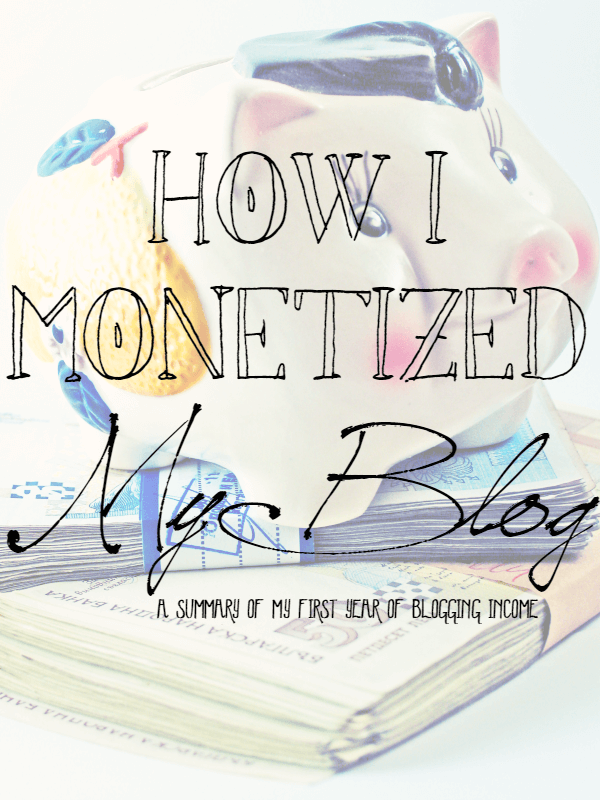 How I Monetized My Blog