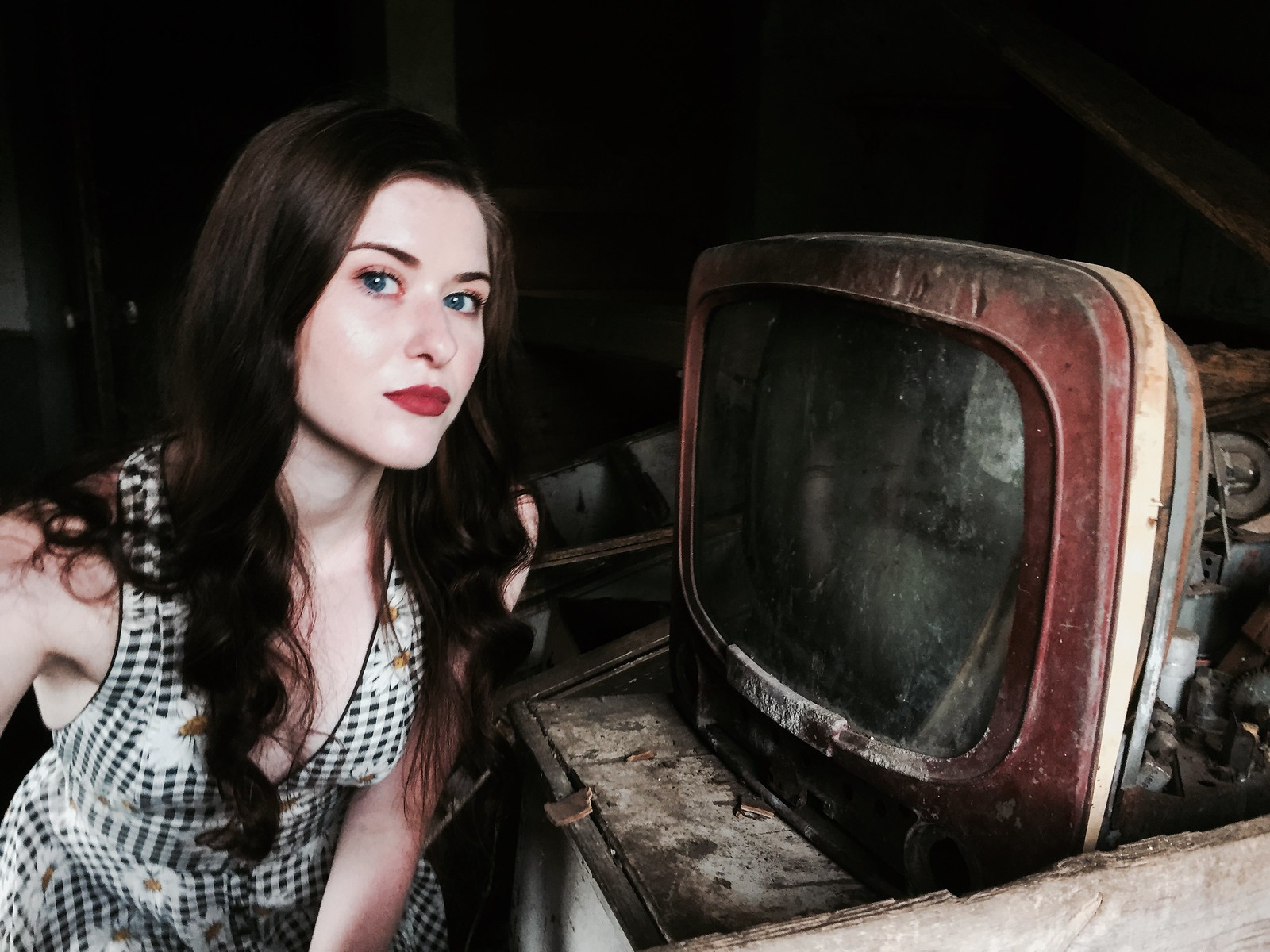 home entertainment was always her wish...(Carly-mercury house) | by Aces & Eights Photography