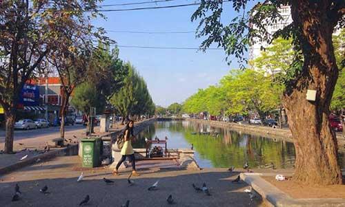 Walking in Chiang Mai Thailand