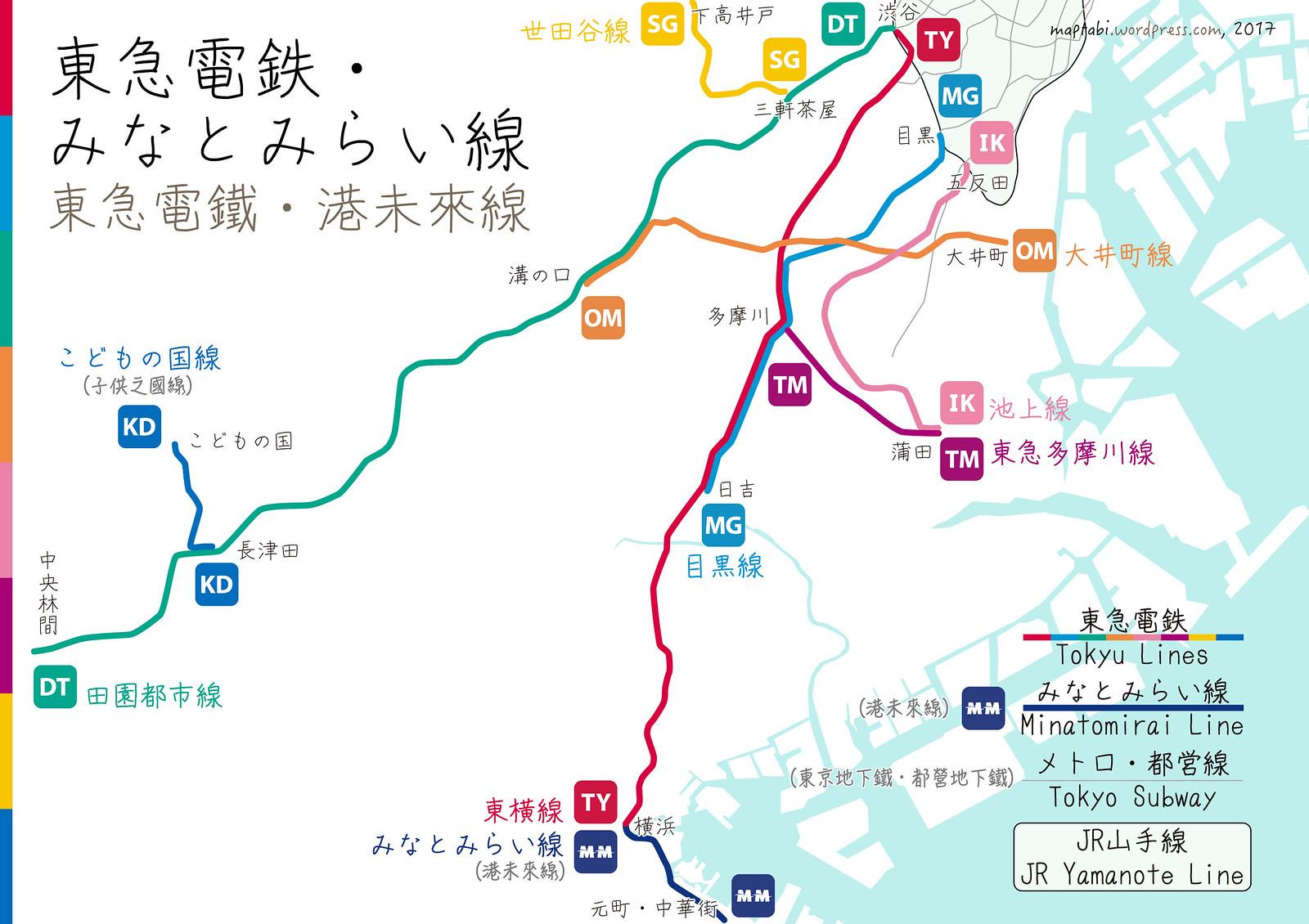 tokyu-lines