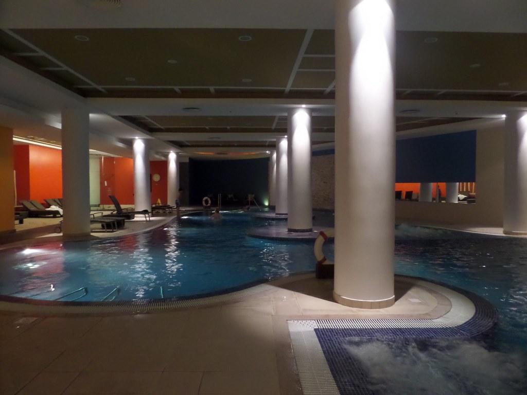 Indoor pool, Casino Park Hotel, Funchal