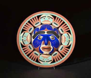 Nootka Sun Mask