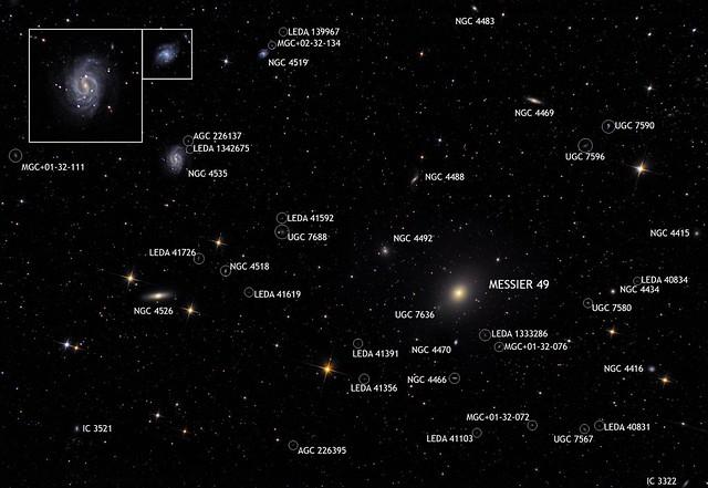 VCSE - Messier 49 és környezete - Ágoston Zsolt