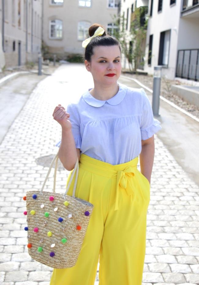 jupe_culotte_jaune_panier_pompons_conseils_blog_mode_la_rochelle_8