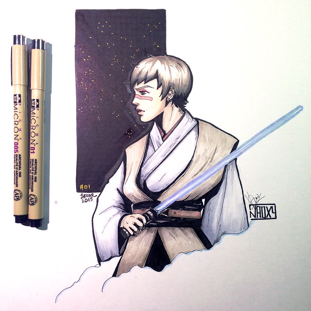 inktober__01____the_jedi_ladies___nikka__by_naoxy-d9bjuen