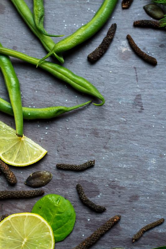 Food Photography Pepper Salt Lemon