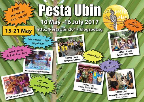 Pesta Ubin 2017 poster