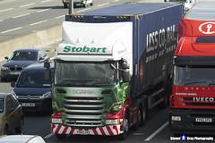 Scania R450 - PO65 UVZ - H2419 - Rosalind Celia - Eddie Stobart - M1 J10 Luton, Bedfordshire - Steven Gray - IMG_8173