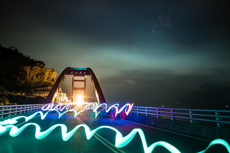 螢光虹橋|阿里山