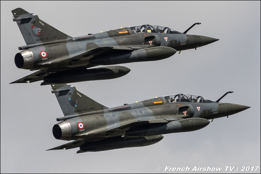 Couteau Delta , Mirage 2000D , EC 3/3 Ardennes , Meeting de l'Air BA-106 Bordeaux Merignac , meeting aerien 2017 , Airshow