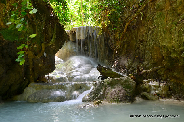halfwhiteboy - aguinid falls, samboan, cebu 08