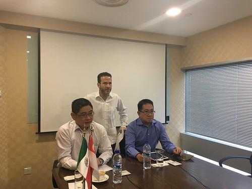 Se realiza primer proyecto de colaboración entre Academias Diplomáticas de México y Singapur