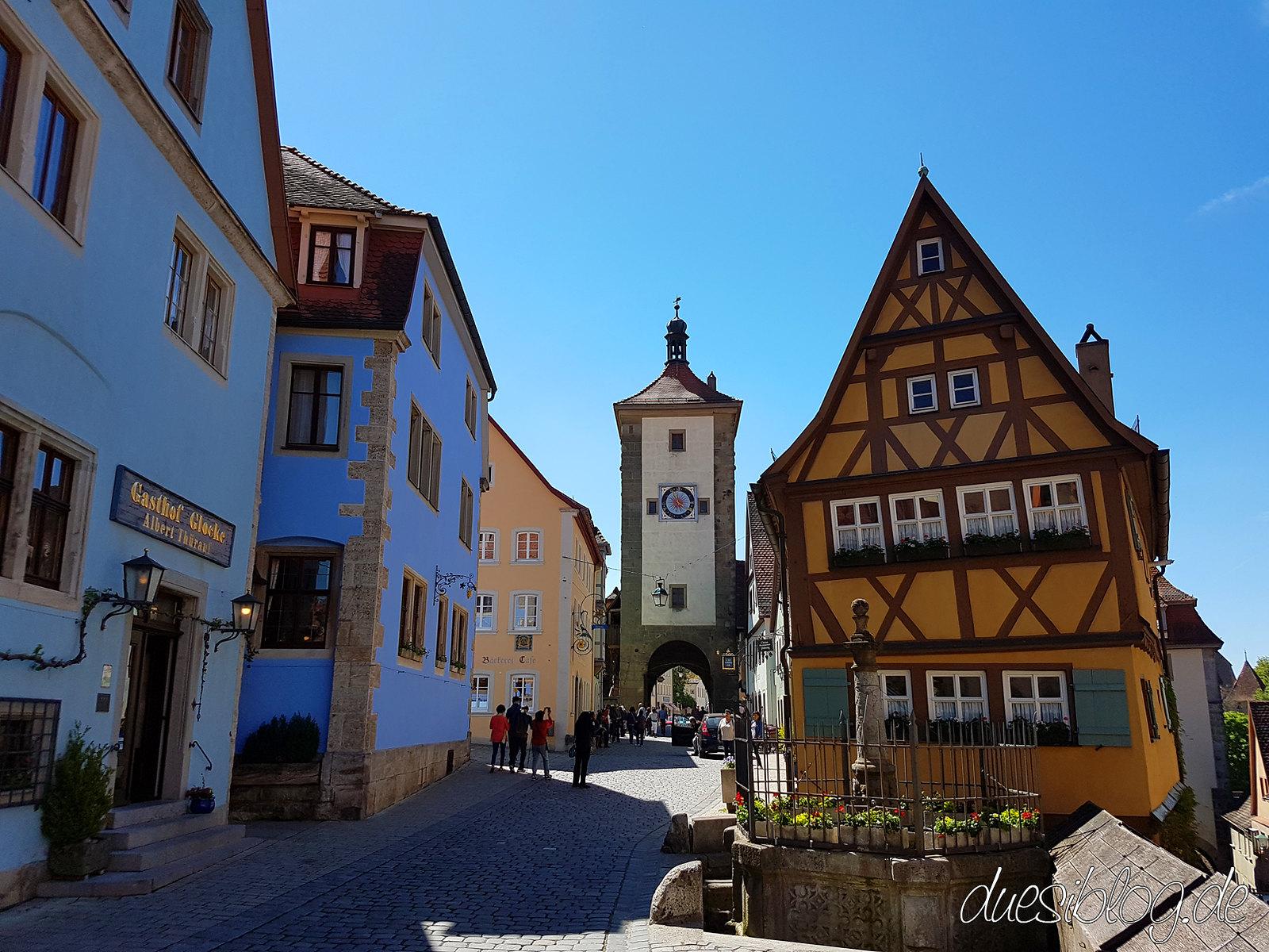 Rothenburg ob der Tauber Ploenlein duesiblog 05