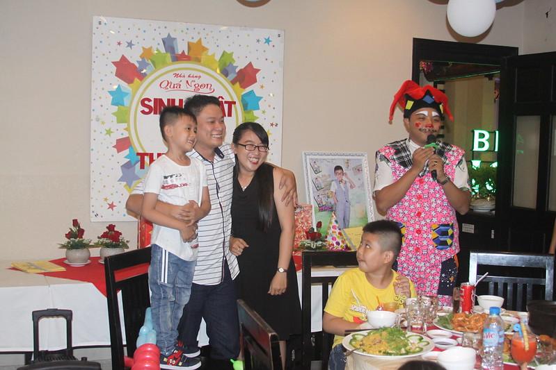 Tiệc sinh nhật bé Thiên Minh