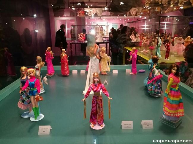 Barbies de 1970s (vista trasera)