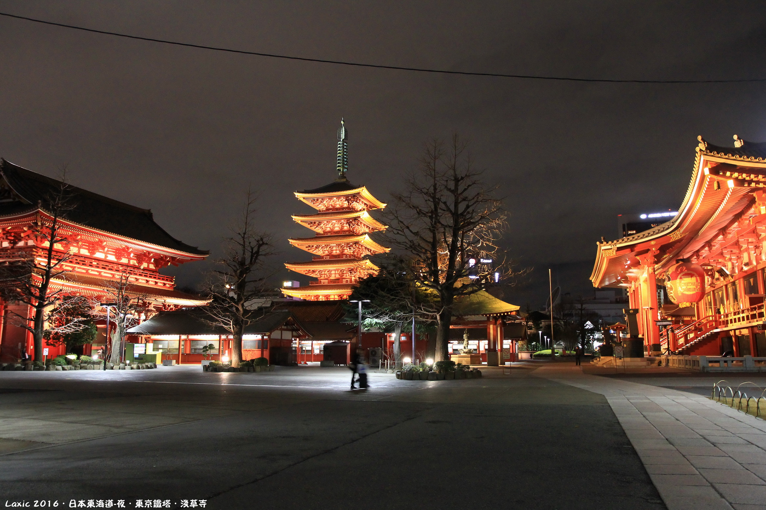2016.03 日本東海道夜.淺草寺.東京鐵塔
