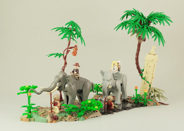 Indiana Jones - elephant ride