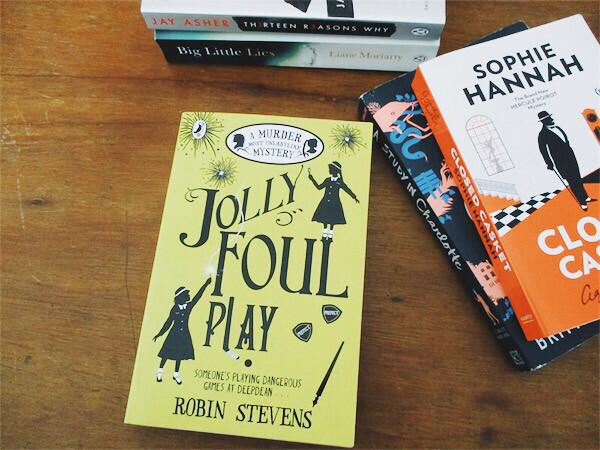 Jolly Foul Play by Robin Stevens   Hola Darla