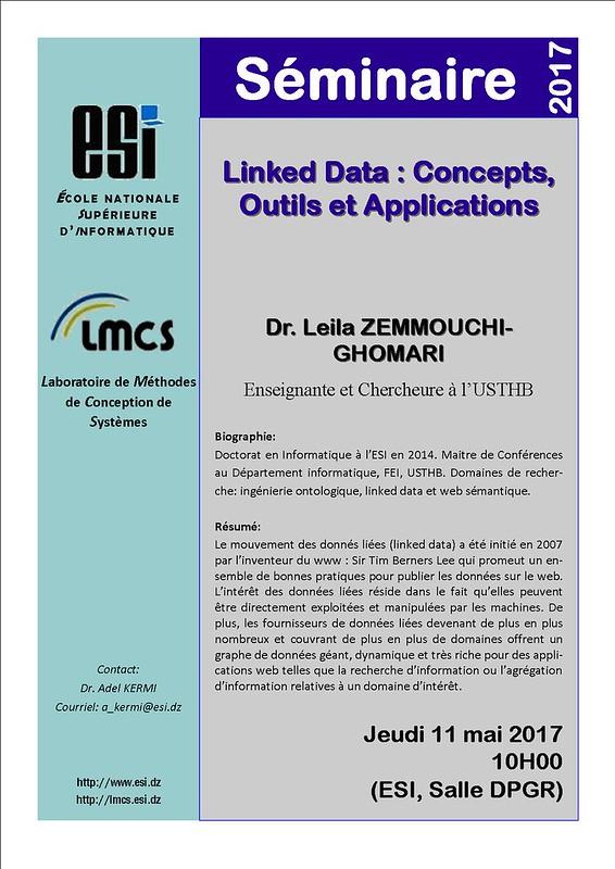 Seminaire Lila Zemmouchi Ghomari