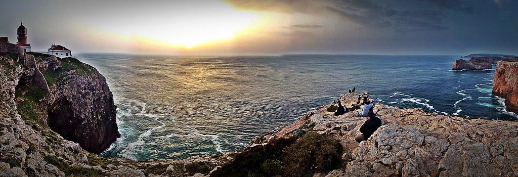 Atardecer en Cabo de Sâo Vicente