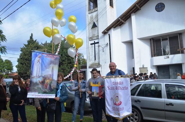 Los 100 años de Fátima: fiesta en Lomas de Zamora