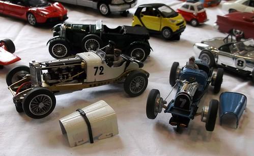 Scratchbuilt vintage racers