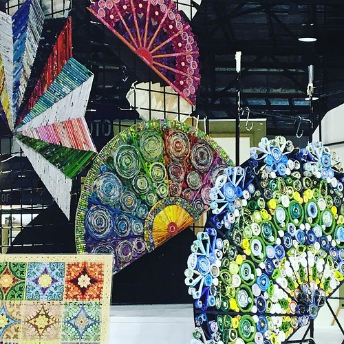 Paper Fans at Sydney Royal Easter Show 2017