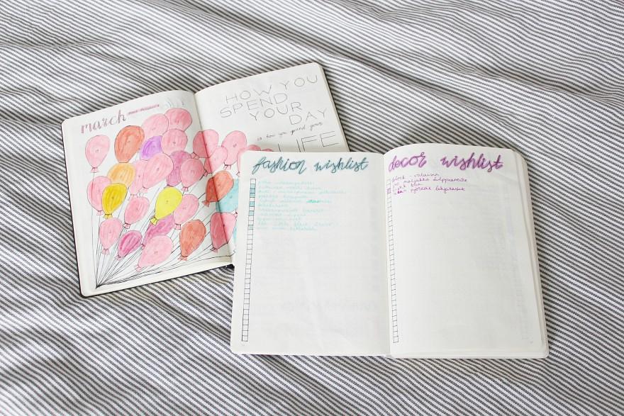bujo page ideas