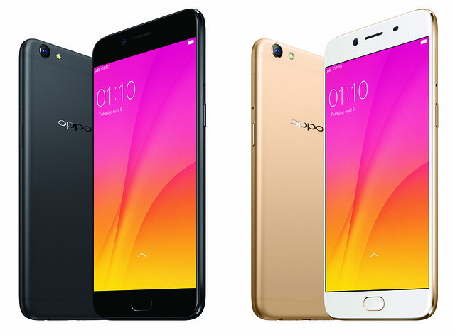 oppo r9s plus black and gold