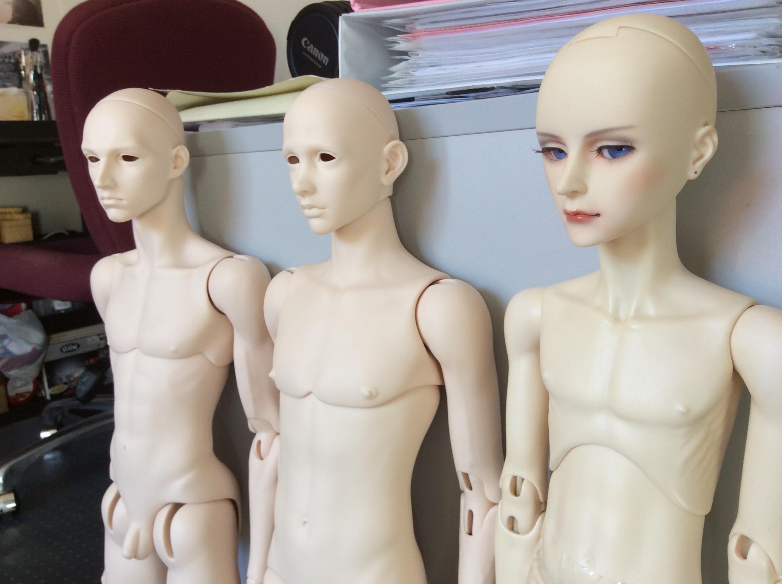Dollshe Arsene Comparison Venitu and Old Hound body