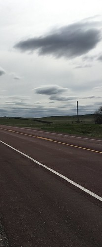 stretch of highway, Wyoming. From The Art of Road Tripping, Part 2: Remaining Open