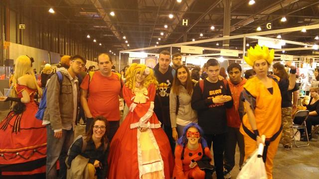 Visita Heroes Manga Madrid (22 de abril de 2017)