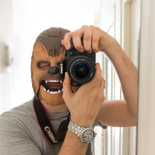 Chewbacca Mask - Photo