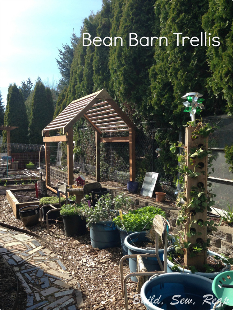 The Bean Barn by Julie at Build, Sew, Reap