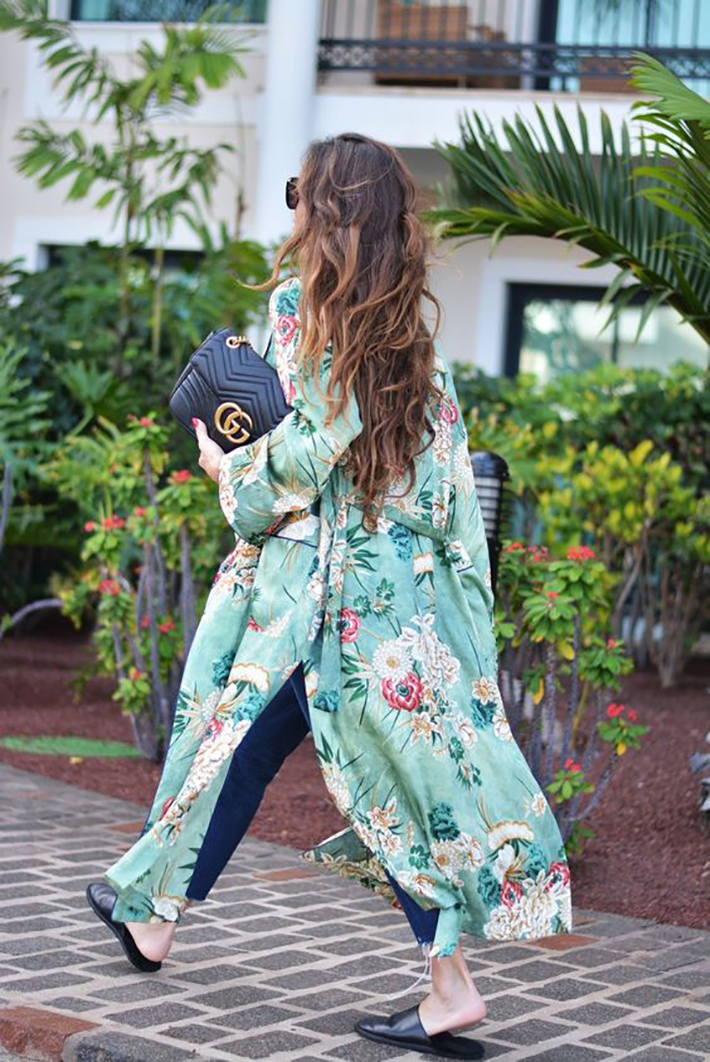 kimono street style spring 2017 outfits inspiration accessories fashion trend style4
