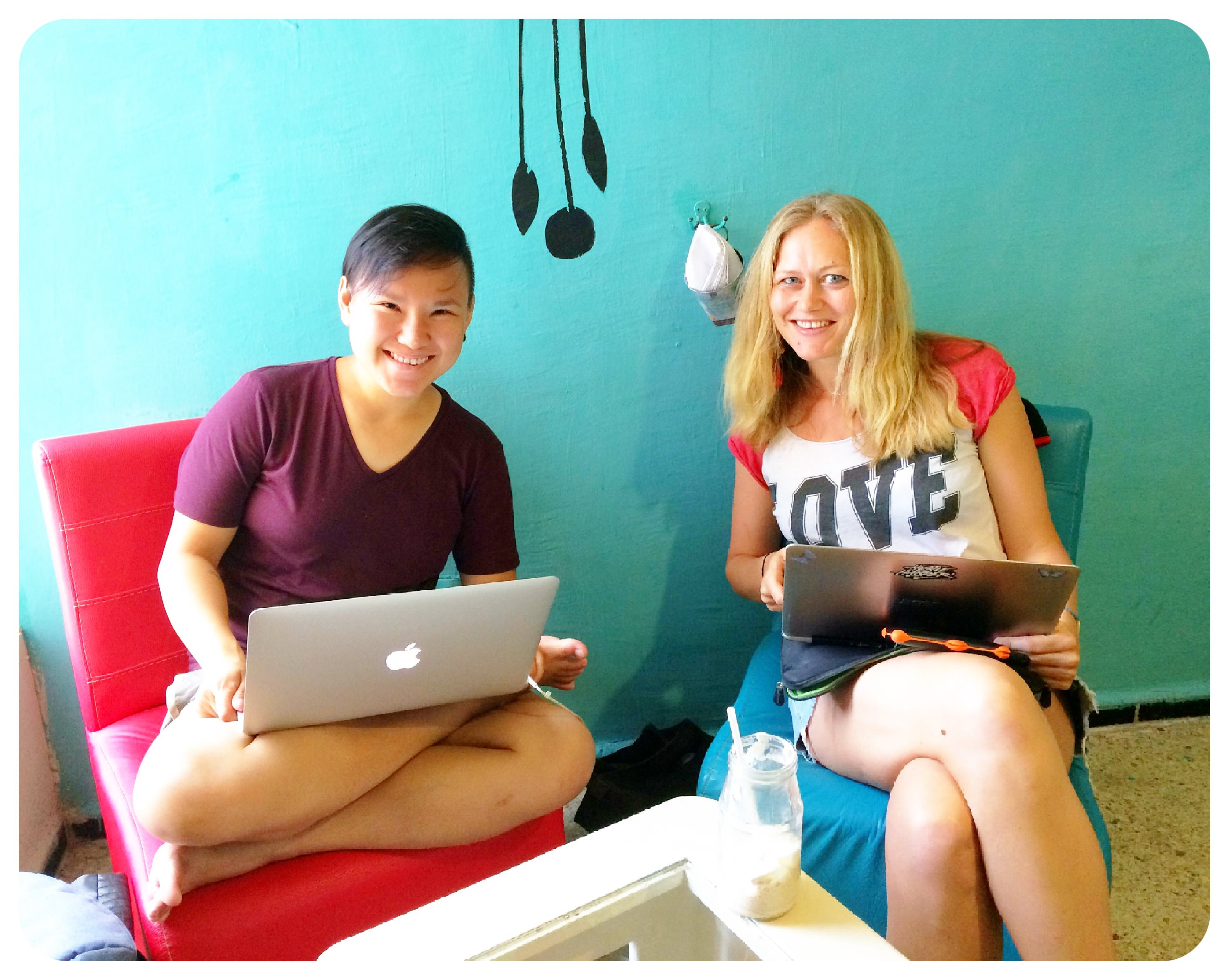 chrys and dani coworking
