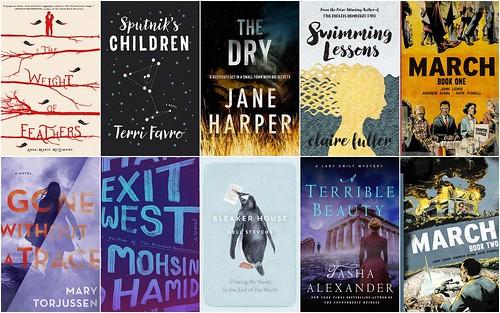 april books collage