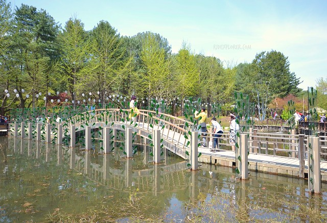nami island First Kiss Glass Sequoia bridge