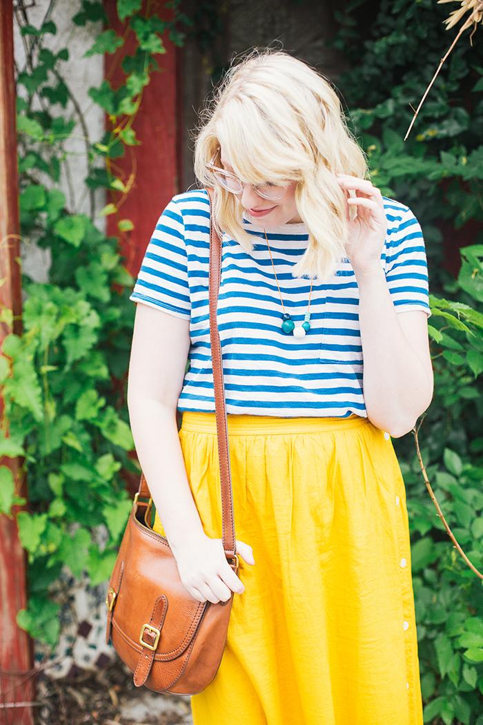 austin style blogger writes like a girl madewell midi skirt14