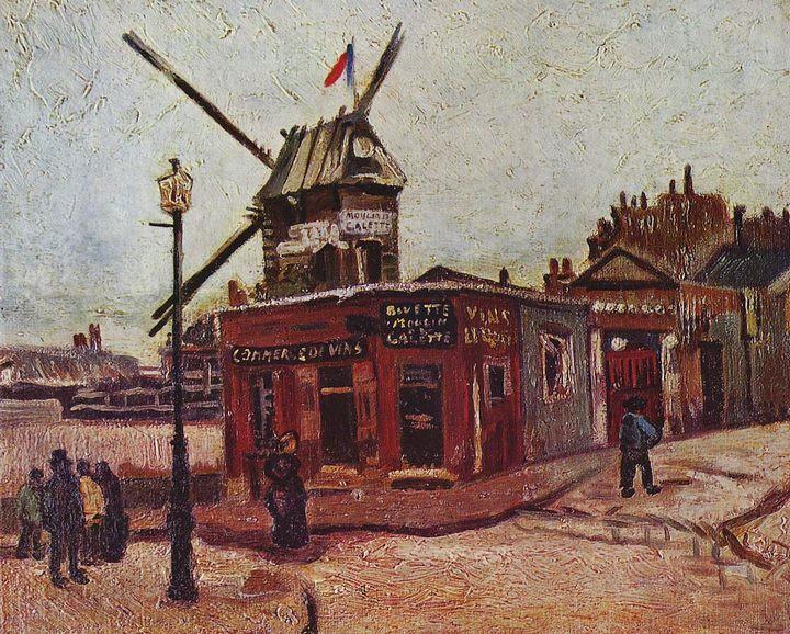 Moulin Galette - Van Gogh