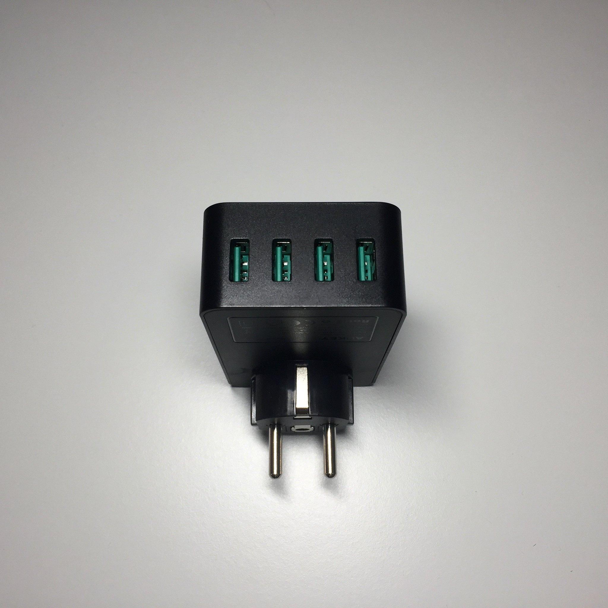 20170505 Test du chargeur AUKEY 4 ports USB et une prise secteur (PA-S12) 7