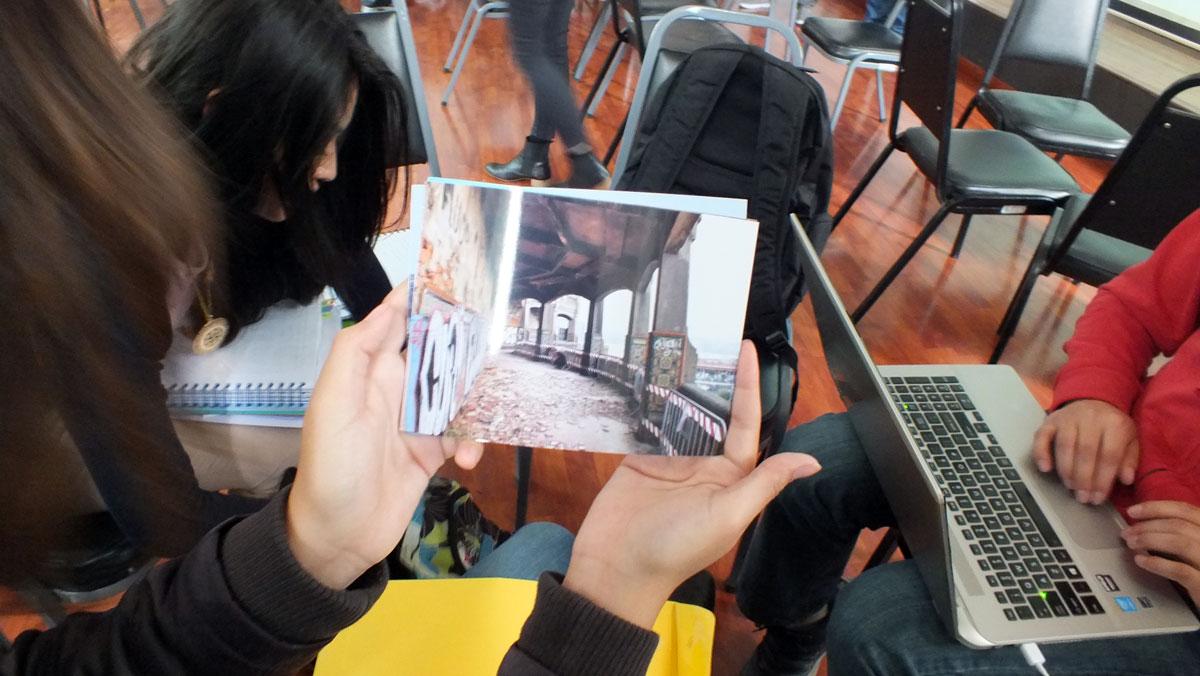 patrimonio_creatividad_valores_workshop_taller_reharq_universidad_cuenca_ecuador_hablan los alumnos_punta begoña