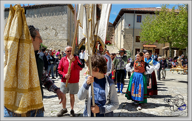 Romeria a Santa Casilda. Procesión, misa y bailes (1)