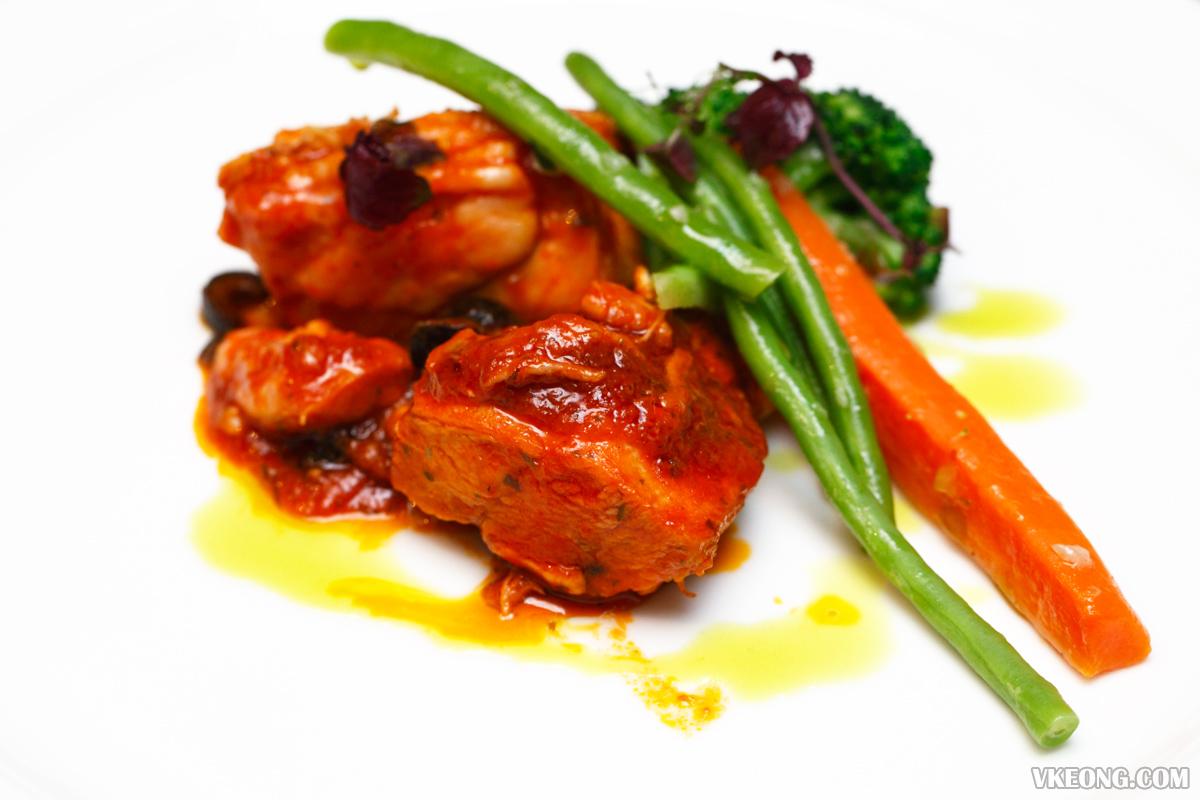 Villa Danieli Italian Prosecco Brunch Chicken Cacciatore