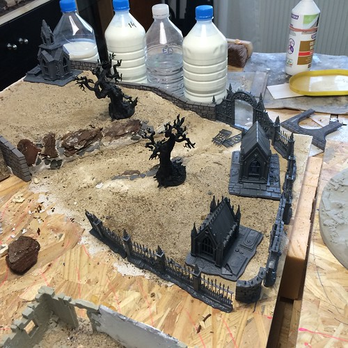 Malval District project - Mordheim table 34478057771_96c466abef