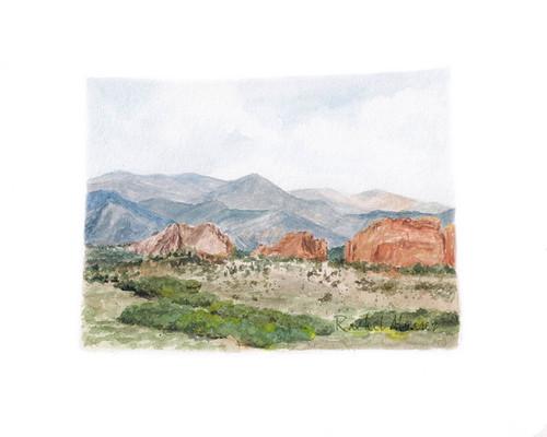 Colorado. Artist Rachel Alvarez